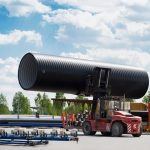 Moving Weholite Pipe
